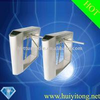 Manual Resetting Bridge Round Angle Tripod security turnstile gate-HYT033