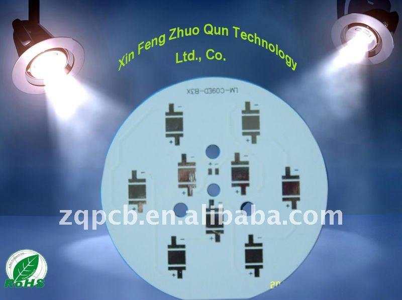 الألومنيوم القائم LED ثنائي الفينيل متعدد الكلور