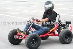 200cc 6.5HP air cooled 4 stroke go kart (LZG200E)