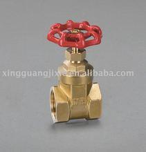 Full port big size rising stem brass gate valve pn16