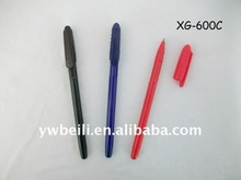 custom promotional novelty cute ball pen with holder clip