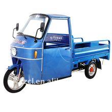 covered three wheeler auto rickshaw for passengers
