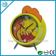 animal alarm plastic table clock