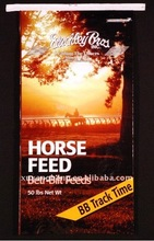 Horse feed bags with easy tape,Poutry feeds sacks 20kg,Animal feed bags