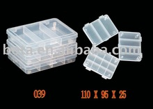 Three Pack small Accessories fishing tackle Box
