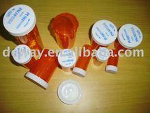 vial ,plastic vials ,plastic child resistant cap vials