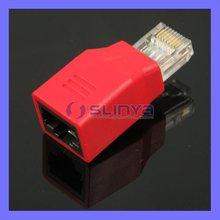 Laptop Test Connector RJ45 Net Adapter Extension RJ45
