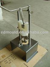 304 de acero inoxidable máquina de cortar para piña peeling de extracción de núcleos de corte