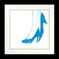 600*600mm sexy girl blue high-heeled shoes Wall Decoration Picture