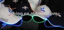LED Flash Baseball Cap ,EL Wire Cap