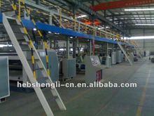 seven layer corrugated card board production line