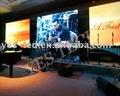 P10 LED Stadiums-Hintergrundplexiglas anzeigen-Kann verschiedene Signale, wie Fernsehapparat, DVD und VCD spielen