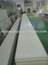 PU rigid foam system for sandwich roof panel