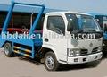Dongfeng xbw camion à ordures bras oscillant 3000-6000l