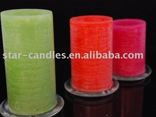 """3""""*5"""" Water distressed LED candle light/ LED Candles with yellow flickering"""