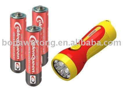 Zink koolstof batterij