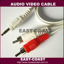 Mini Audio Video 3.5 to rca cable