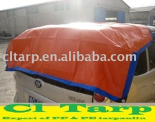 170G PE Tarpaulin with Blue/Orange Color for Car Cover