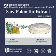100% fatty acid 45% saw palmetto P.E