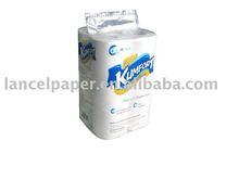 Embossed White Toilet Paper