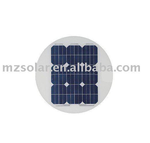 28W round solar module