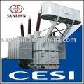 220kv 63000kVA huile rempli électrique transformateur