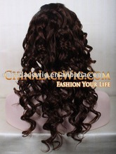 instock 100% pure Indian remy virgin human hair wigs beautiful body curl texture
