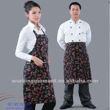 2012 New Designing Kitchen aprons-chef coat-kitchen wear