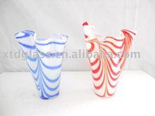 Different types glass vase
