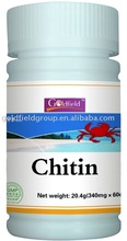 Chitin capsule health food products