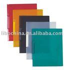 PP single plastic swing clip file folder