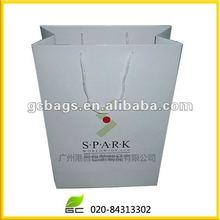 2012 new custom white kraft paper bag factory