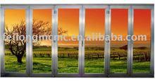 Aluminum Sliding Bi Folding Door With AS2047 in Australia & NZ