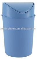 Color Coded Plastic Dust Bin with Swing lid
