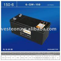 JIS 12V50AH Dry-charged Automotive Car Battery
