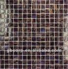 Glass Mosaic Goldline - restaurant flooring and wall tile(GA316)
