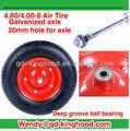 Neumático de la rueda 4.80/4.00-8 para la mayoría de carretilla