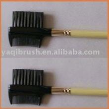 eye makeup,eyebrow comb and lash brush