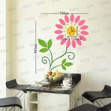 Handicraft of wall stick clock