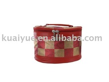 Fashion Cosmetic Bag with Top Zipper