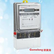 DDS5558 240v digital electric kilowatt hour meter