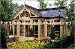 modern glass green house