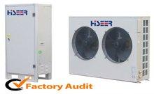 EVI air source heat pump 10KW 13KW split type