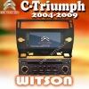 WITSON White CITROEN C-Triumph CITROEN CAR DVD