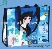 trendy promotional shopping bag D087