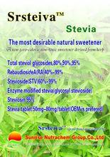 stevia extract ( stevioside,Reb A,Rebaudioside A)