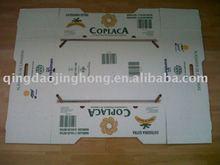 Food packing carton box