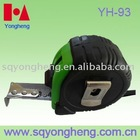 rubber covered and new design tape measure 5 meter