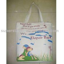 beautiful canvas bag/scrawl bag