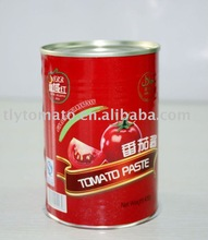 double concentrated canned tomato paste condiments